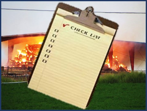 Picture of checklist clipboard