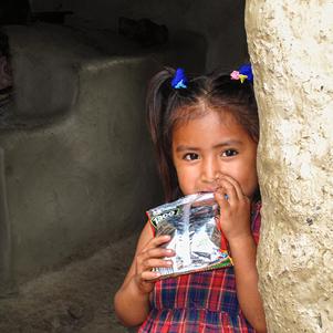 Little girl in Nicaragua