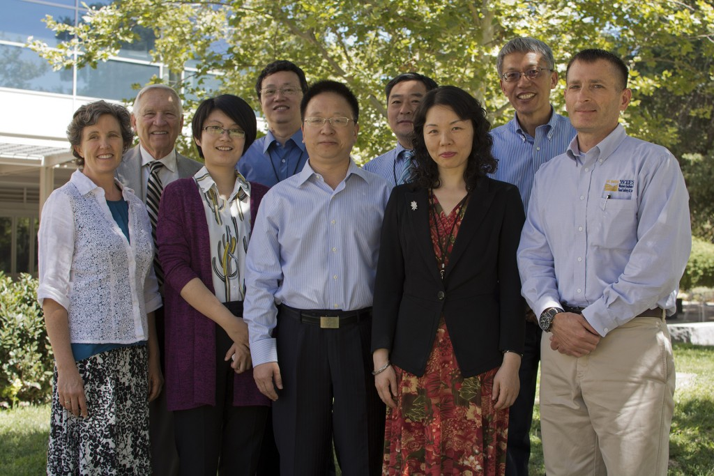 NAU Chancellor Zuo visit to Davis