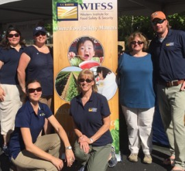 WIFSS crew at Farm to Fork Festival