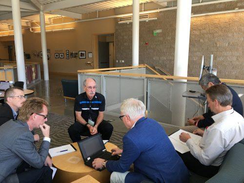 Team session at Swedish delegation conference Oct 2017