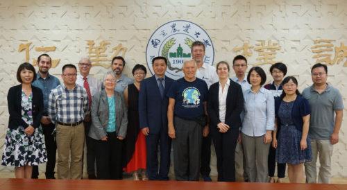 Symposium at Nanjing Agricultural University, UC Davis and NAU, group photo