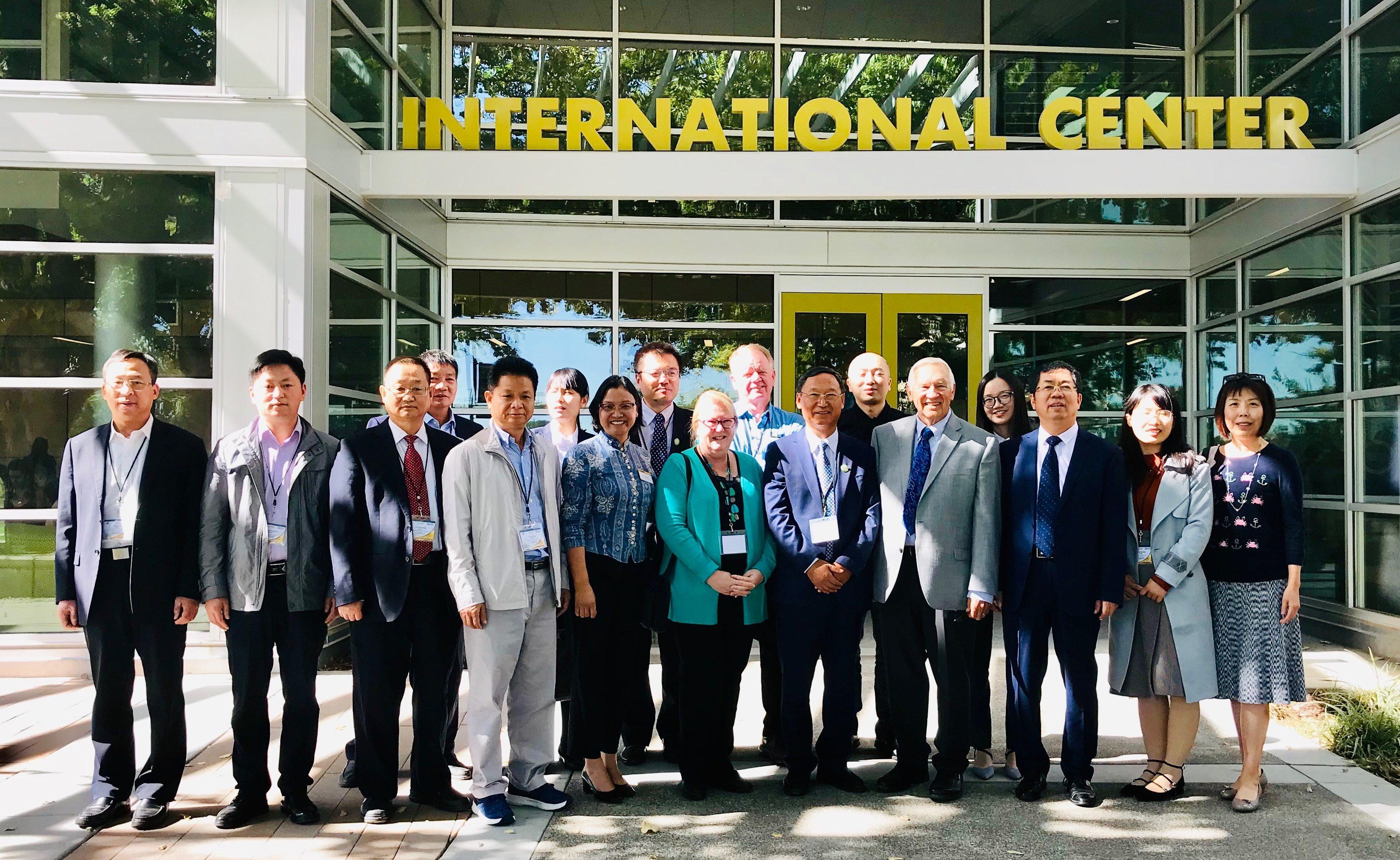 Higher Vocational Education International Alliance for Agri-Husbandr Meeting UC Davis